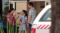 Dipi Rebecchi, Kirsha Rebecchi, Shane Rebecchi in Neighbours Episode 7800
