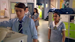 Jimmy Williams, Kirsha Rebecchi in Neighbours Episode 7800
