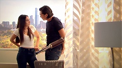 Mishti Sharma, Leo Tanaka in Neighbours Episode 7800