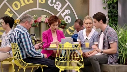 Karl Kennedy, Susan Kennedy, Xanthe Canning, Ben Kirk in Neighbours Episode 7801