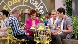 Karl Kennedy, Susan Kennedy, Xanthe Canning, Ben Kirk in Neighbours Episode 7801