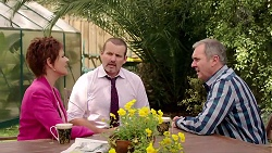 Susan Kennedy, Toadie Rebecchi, Karl Kennedy in Neighbours Episode 7801