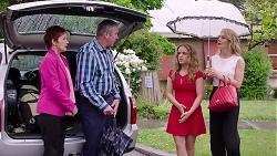 Susan Kennedy, Karl Kennedy, Holly Hoyland, Izzy Hoyland in Neighbours Episode 7801