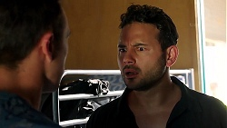 Aaron Brennan, Rafael Humphreys in Neighbours Episode 7802