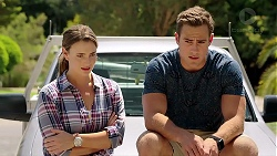Amy Williams, Aaron Brennan in Neighbours Episode 7803
