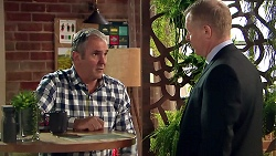Karl Kennedy, Clive Gibbons in Neighbours Episode 7803