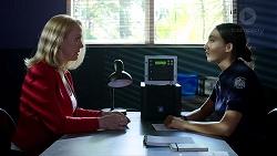 Sue Parker, Mishti Sharma in Neighbours Episode 7804