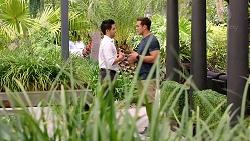 David Tanaka, Aaron Brennan in Neighbours Episode 7804