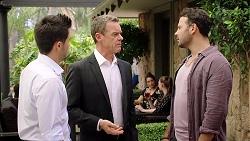 David Tanaka, Paul Robinson, Rafael Humphreys in Neighbours Episode 7804