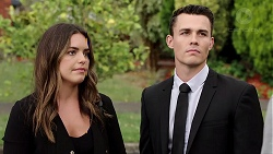 Paige Novak, Jack Callaghan in Neighbours Episode 7804