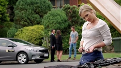 Jack Callaghan, Paige Novak, Mark Brennan, Steph Scully in Neighbours Episode 7804