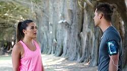 Paige Novak, Mark Brennan in Neighbours Episode 7805