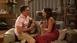 Jack Callaghan, Paige Novak in Neighbours Episode 7805