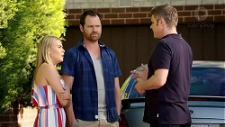 Xanthe Canning, Shane Ramsay, Gary Canning in Neighbours Episode 7806