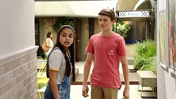 Kirsha Rebecchi, Jimmy Williams in Neighbours Episode 7806