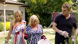 Xanthe Canning, Sheila Canning, Gary Canning in Neighbours Episode 7806