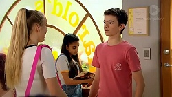 Poppy Ryan, Kirsha Rebecchi, Jimmy Williams in Neighbours Episode 7806