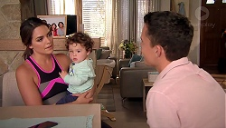 Paige Smith, Gabriel Smith, Jack Callahan in Neighbours Episode 7807