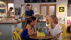 Mark Brennan, Elly Conway, Steph Scully in Neighbours Episode 7807