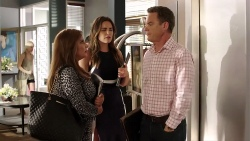 Terese Willis, Paige Novak, Paul Robinson in Neighbours Episode 7807