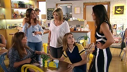 Terese Willis, Elly Conway, Steph Scully, Piper Willis, Paige Smith in Neighbours Episode 7807