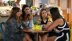 Terese Willis, Elly Conway, Piper Willis, Paige Novak in Neighbours Episode 7807