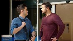 David Tanaka, Rafael Humphreys in Neighbours Episode 7807