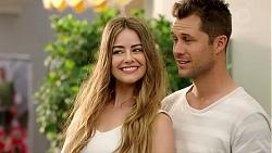 Chloe Brennan, Mark Brennan in Neighbours Episode 7807