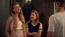 Chloe Brennan, Piper Willis, Mark Brennan in Neighbours Episode 7808