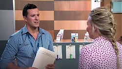 Dr Rob Carson, Xanthe Canning in Neighbours Episode 7808