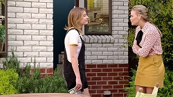 Piper Willis, Xanthe Canning in Neighbours Episode 7808