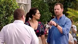 Toadie Rebecchi, Dipi Rebecchi, Shane Rebecchi in Neighbours Episode 7809