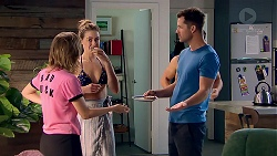 Piper Willis, Chloe Brennan, Mark Brennan in Neighbours Episode 7810