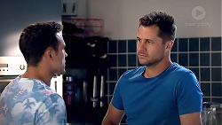 Aaron Brennan, Mark Brennan in Neighbours Episode 7810