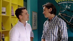 Jack Callaghan, Leo Tanaka in Neighbours Episode 7810