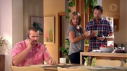 Toadie Rebecchi, Steph Scully, Shane Rebecchi in Neighbours Episode 7810