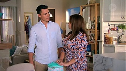 Jack Callaghan, Terese Willis in Neighbours Episode 7810