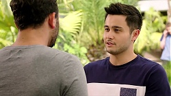 Rafael Humphreys, David Tanaka in Neighbours Episode 7810