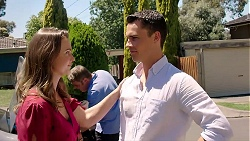 Amy Williams, Gary Canning, Jack Callaghan in Neighbours Episode 7810
