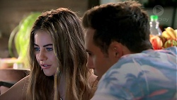Chloe Brennan, Aaron Brennan in Neighbours Episode 7810
