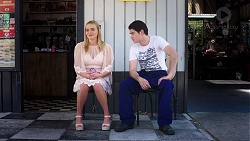 Xanthe Canning, Ben Kirk in Neighbours Episode 7811