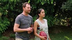 Shane Rebecchi, Yashvi Rebecchi in Neighbours Episode 7812