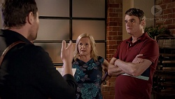 Shane Rebecchi, Sheila Canning, Gary Canning in Neighbours Episode 7814