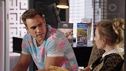 Aaron Brennan, Piper Willis in Neighbours Episode 7814