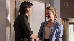 Leo Tanaka, Chloe Brennan in Neighbours Episode 7814