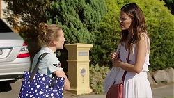 Piper Willis, Elly Conway in Neighbours Episode 7815