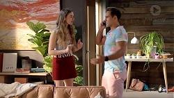 Chloe Brennan, Aaron Brennan in Neighbours Episode 7815