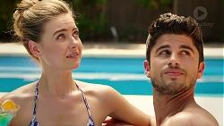 Chloe Brennan, Brandon Danker in Neighbours Episode 7815
