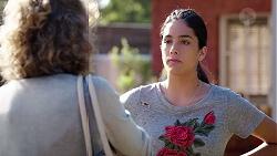 Jane Harris, Yashvi Rebecchi in Neighbours Episode 7816