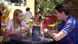 Xanthe Canning, Ben Kirk in Neighbours Episode 7816